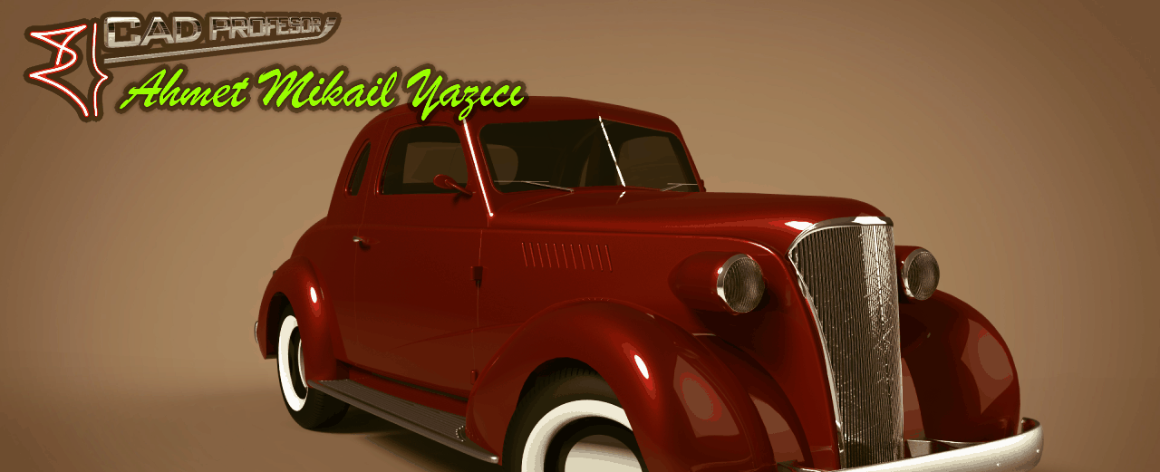 Chevy Coupe 1937 SolidWorks Surface